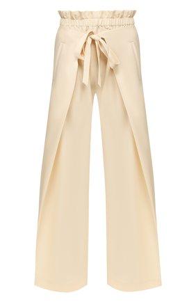 Женские шерстяные брюки CULT GAIA белого цвета, арт. 52017M04 CRM | Фото 1
