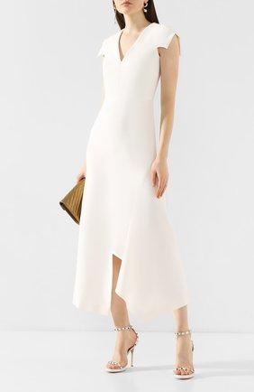 Женское платье ROLAND MOURET белого цвета, арт. PS20/S0840/F2196 | Фото 2