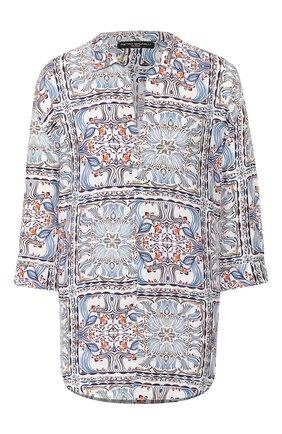 Женская блузка из вискозы PIETRO BRUNELLI разноцветного цвета, арт. CA0207/VI0058 | Фото 1