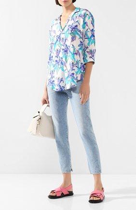 Женская блузка из вискозы PIETRO BRUNELLI разноцветного цвета, арт. CA0207/VI0058   Фото 2