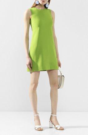 Женское платье DOLCE & GABBANA зеленого цвета, арт. F6B6WT/FURDV | Фото 2