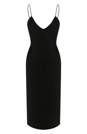 Женское платье SAINT LAURENT черного цвета, арт. 601311/Y125W | Фото 1