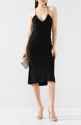 Женское платье SAINT LAURENT черного цвета, арт. 601311/Y125W | Фото 2