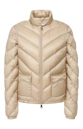 Женский пуховая куртка MONCLER бежевого цвета, арт. F1-093-1A535-00-C0355 | Фото 1
