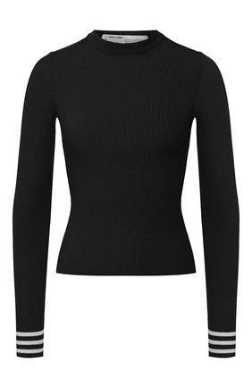 Женская пуловер из вискозы OFF-WHITE черного цвета, арт. 0WHE002R20H330681000 | Фото 1