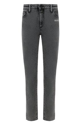 Женские джинсы OFF-WHITE серого цвета, арт. 0WYA003R20E960687500 | Фото 1