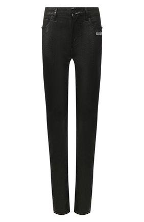 Женские джинсы OFF-WHITE черного цвета, арт. 0WYA003R20H350688600   Фото 1
