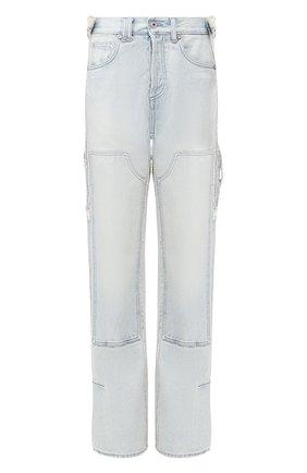 Женские джинсы OFF-WHITE голубого цвета, арт. 0WYA017R207730687100 | Фото 1