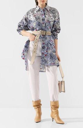 Женские джинсы ISABEL MARANT ETOILE бежевого цвета, арт. PA0887-20P018E/C0RSY | Фото 2