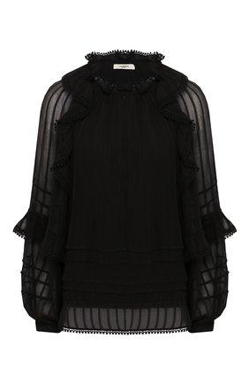 Женская блузка из вискозы ISABEL MARANT ETOILE черного цвета, арт. HT1598-20P031E/JAYDEN   Фото 1
