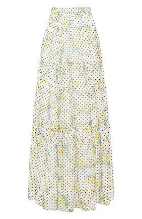 Женская юбка-макси PHILOSOPHY DI LORENZO SERAFINI белого цвета, арт. A0118/755 | Фото 1