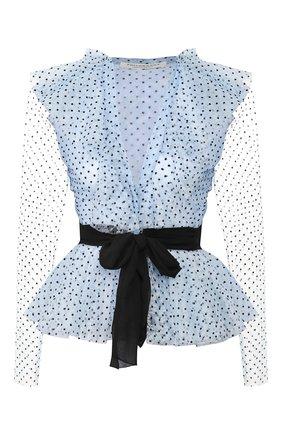 Женская блуза PHILOSOPHY DI LORENZO SERAFINI голубого цвета, арт. A0211/749 | Фото 1