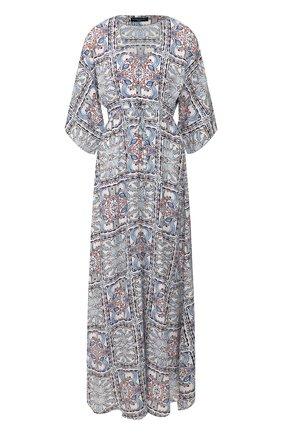 Женское платье с принтом PIETRO BRUNELLI разноцветного цвета, арт. AS1512/VI0058 | Фото 1