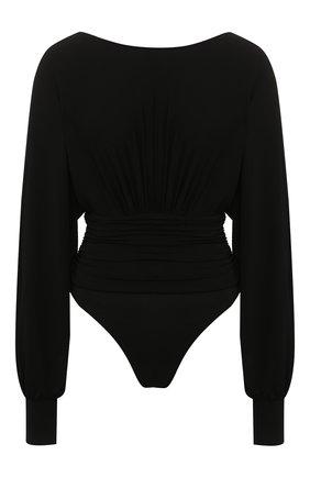 Женское боди ALEXANDRE VAUTHIER черного цвета, арт. 201BY1201 0191-1029 | Фото 1