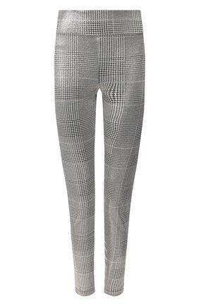 Женские леггинсы KORAL серебряного цвета, арт. A2654HH29 | Фото 1