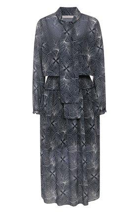 Женское платье-миди SEE BY CHLOÉ синего цвета, арт. CHS20SR035026 | Фото 1