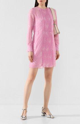 Женское платье SEE BY CHLOÉ розового цвета, арт. CHS20SR008026 | Фото 2