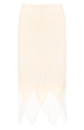 Юбка из смеси вискозы и шелка | Фото №1