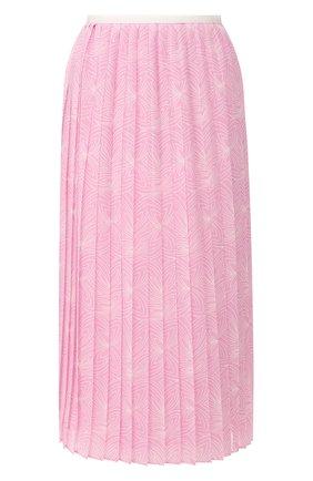Женская юбка SEE BY CHLOÉ розового цвета, арт. CHS20SJU02026 | Фото 1