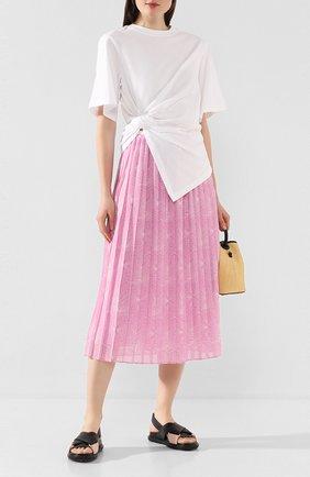 Женская юбка SEE BY CHLOÉ розового цвета, арт. CHS20SJU02026 | Фото 2