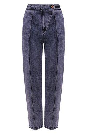 Женские джинсы SEE BY CHLOÉ фиолетового цвета, арт. CHS20SDP01161   Фото 1