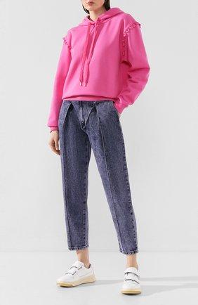 Женские джинсы SEE BY CHLOÉ фиолетового цвета, арт. CHS20SDP01161   Фото 2