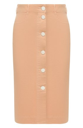 Женская джинсовая юбка SEE BY CHLOÉ бежевого цвета, арт. CHS20SDJ07163 | Фото 1