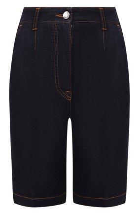Женские джинсовые шорты DOLCE & GABBANA темно-синего цвета, арт. FTBPHD/G900B | Фото 1