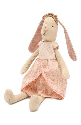 Детского игрушка заяц принцесса MAILEG бежевого цвета, арт. 16-8120-01 | Фото 1