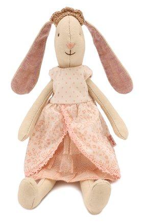 Детского игрушка заяц принцесса MAILEG бежевого цвета, арт. 16-8120-01 | Фото 2