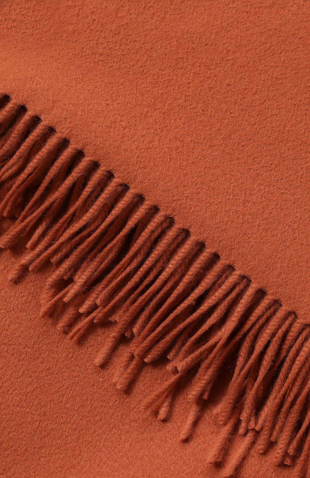 Мужского кашемировый плед LORO PIANA коричневого цвета, арт. FAA1158 | Фото 2