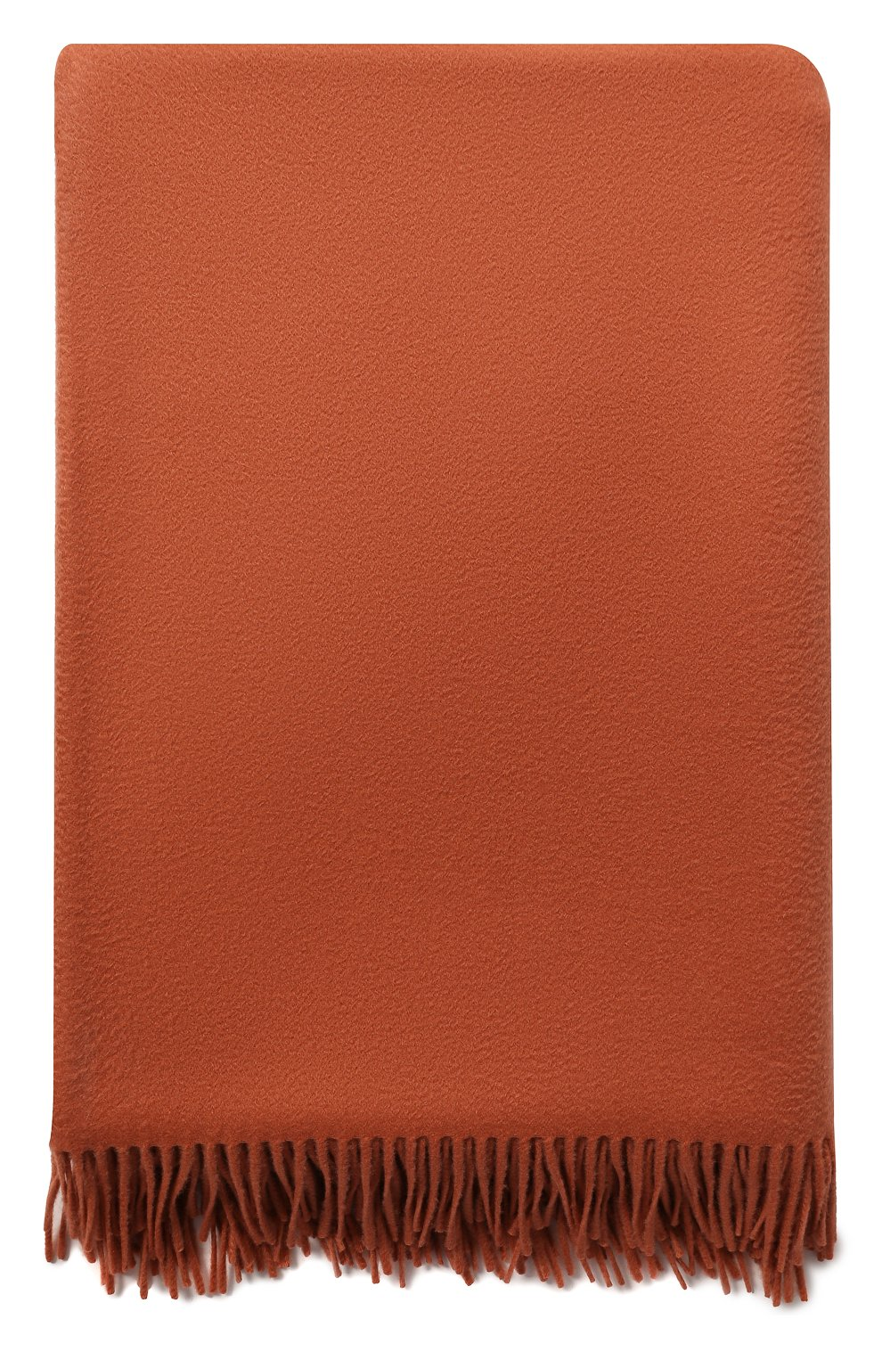 Мужского кашемировый плед LORO PIANA коричневого цвета, арт. FAA1158 | Фото 3