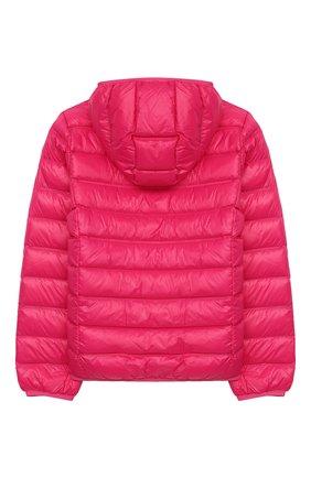 Детского пуховая куртка с капюшоном EA 7 фуксия цвета, арт. 8NBB34/BN29Z | Фото 2