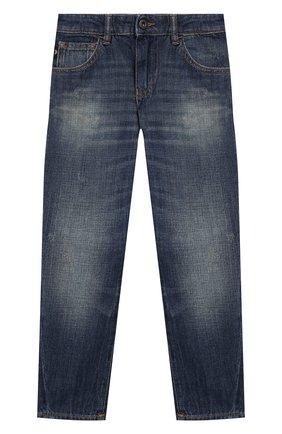 Детские джинсы EMPORIO ARMANI синего цвета, арт. 3H4J04/4D1UZ | Фото 1