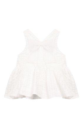 Детский топ SIMONETTA белого цвета, арт. 1M5002/MA530/1-4 | Фото 2