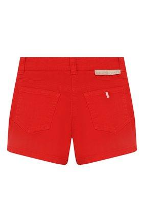 Детские хлопковые шорты STELLA MCCARTNEY красного цвета, арт. 588592/S0K59 | Фото 2