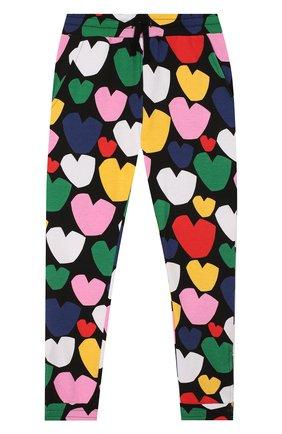 Детского хлопковые брюки STELLA MCCARTNEY разноцветного цвета, арт. 589102/S0JD2 | Фото 1