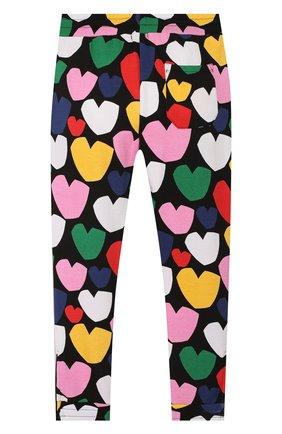 Детского хлопковые брюки STELLA MCCARTNEY разноцветного цвета, арт. 589102/S0JD2 | Фото 2