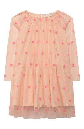Детское платье STELLA MCCARTNEY розового цвета, арт. 589376/S0KE0 | Фото 1