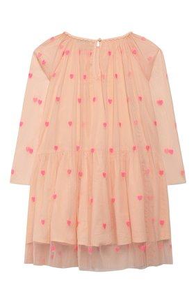 Детское платье STELLA MCCARTNEY розового цвета, арт. 589376/S0KE0 | Фото 2