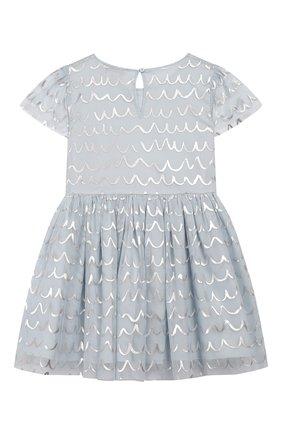 Детское платье STELLA MCCARTNEY голубого цвета, арт. 596503/S0KE2 | Фото 2