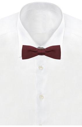 Мужской шелковый галстук-бабочка BOSS бордового цвета, арт. 50423862   Фото 2