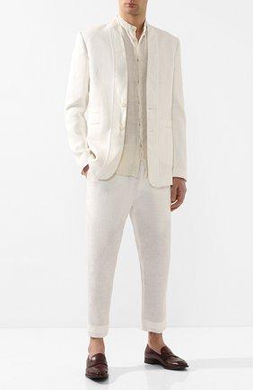 Мужские кожаные пенни-лоферы SILVANO SASSETTI бордового цвета, арт. S19972X413BDIVIB0RD | Фото 2