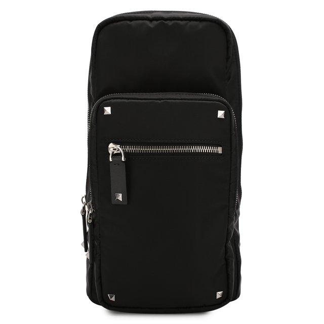 Текстильная сумка-слинг Valentino Garavani VLTN Valentino