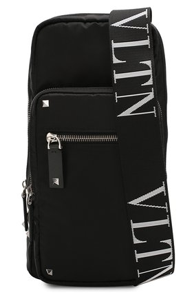 Мужской текстильная сумка-слинг valentino garavani vltn VALENTINO черного цвета, арт. TY2B0888/RPY | Фото 5