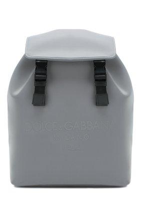 Мужской рюкзак palermo reflector DOLCE & GABBANA серого цвета, арт. BM1756/AJ640 | Фото 1
