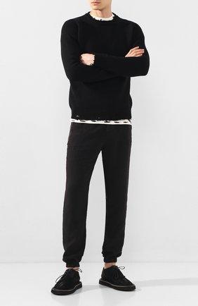 Мужские кожаные дерби MARSELL черного цвета, арт. MM3161/PELLE R0VESCI0 | Фото 2
