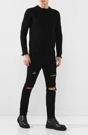 Мужские кожаные ботинки MARSELL черного цвета, арт. MM3090/PELLE V0L0NATA | Фото 2