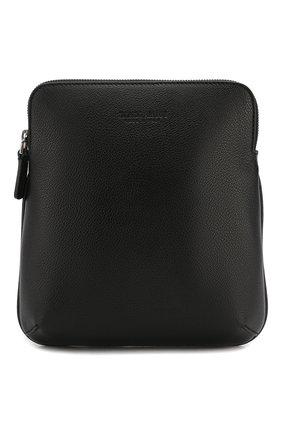 Мужская кожаная сумка GIORGIO ARMANI черного цвета, арт. Y2M225/YDZ1J   Фото 1