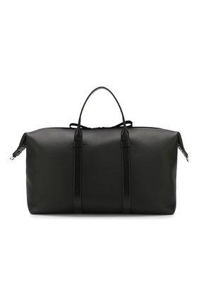 Мужская кожаная дорожная сумка TOM FORD черного цвета, арт. H0378P-LCL037 | Фото 1